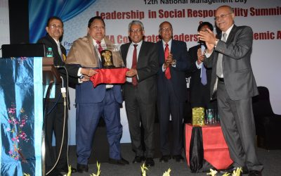 BMA felicitates A. M. Naik & Subhash Chandra among others at Corporate Leadership Awards