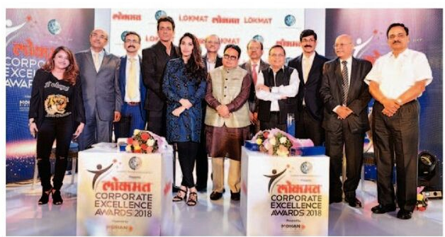 Lokmat Corporate Excellence Awards 2018 – Knowledge Partner