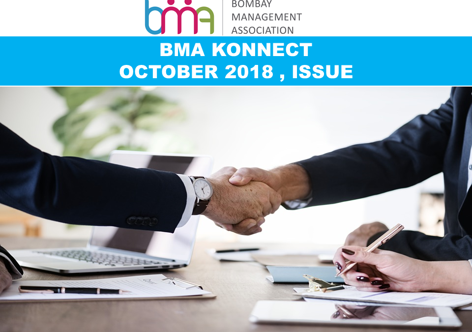 BMA KONNECT OCTOBER 2018 , ISSUE